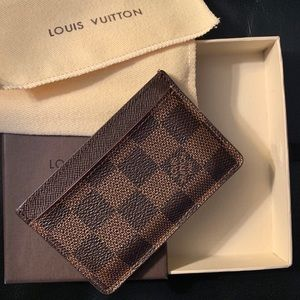 Men's Louis Vuitton Card Holder
